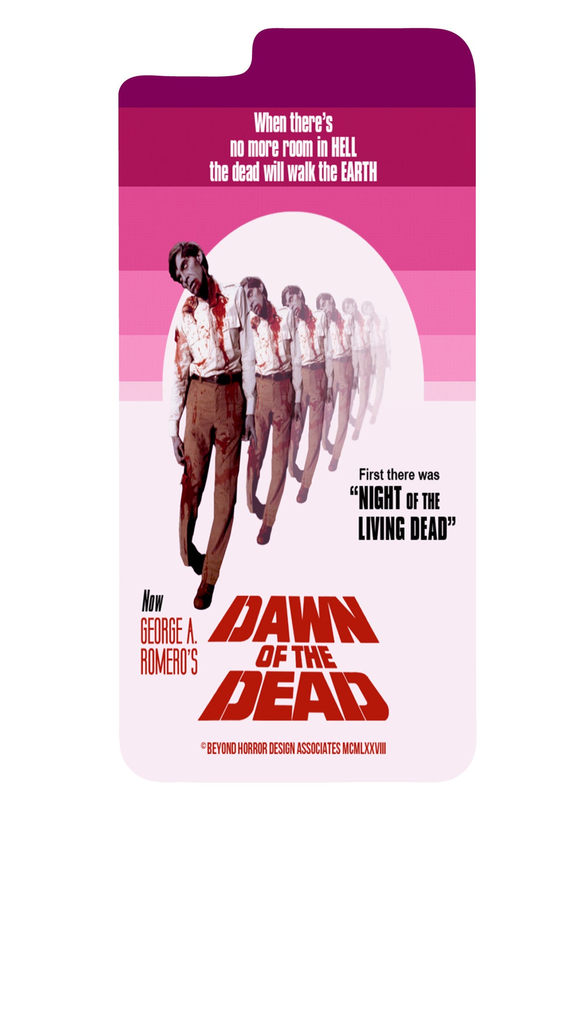 Dawn of the Dead Style B iPhone 6+/6S+ Case