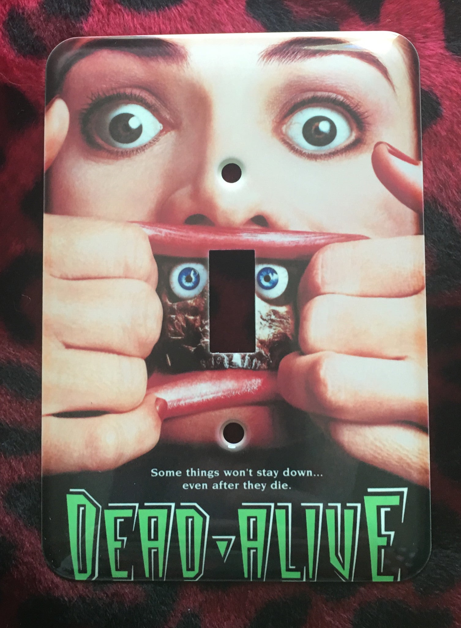 Dead Alive Single Light Switch Cover