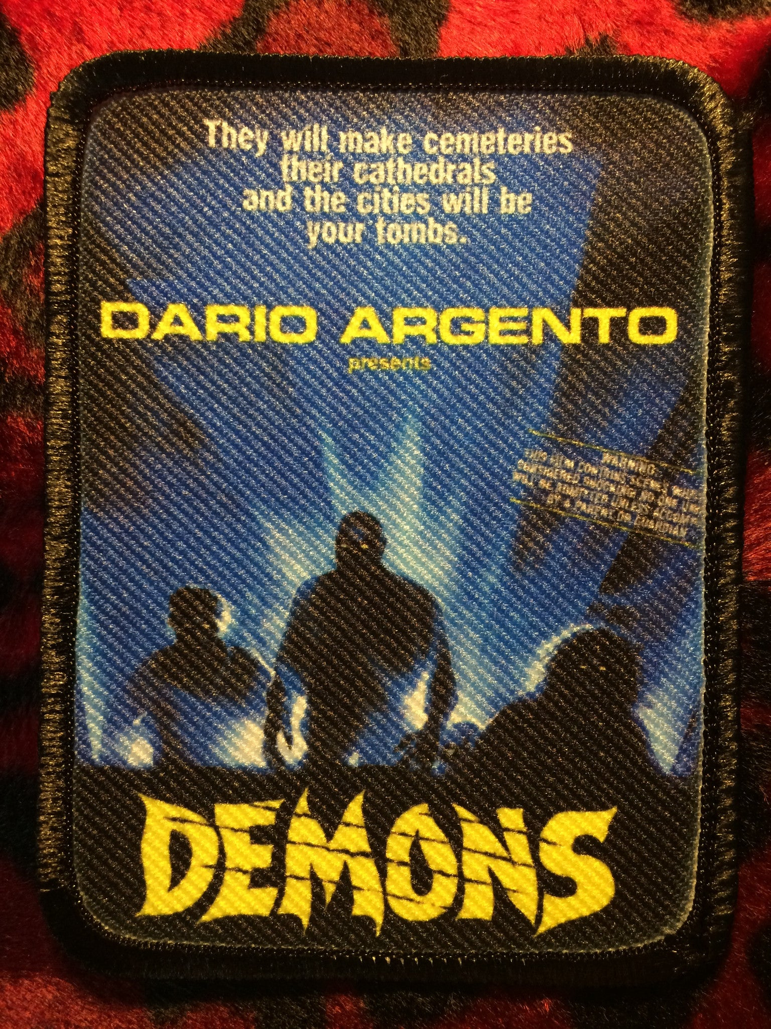 Demons Style B Patch