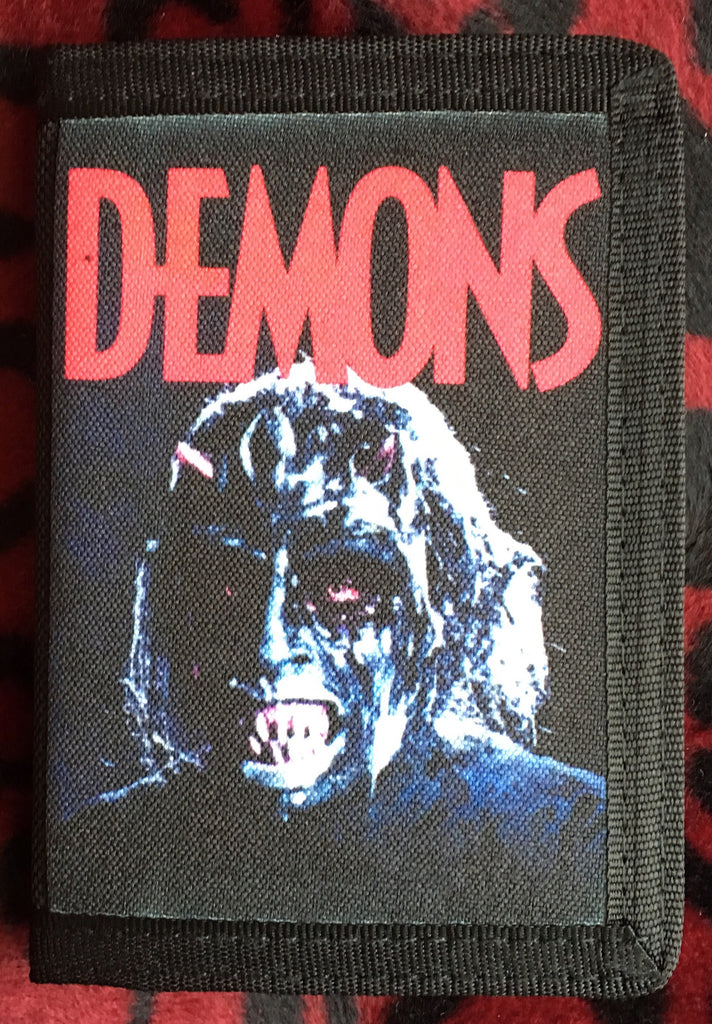 Demons Canvas Wallet