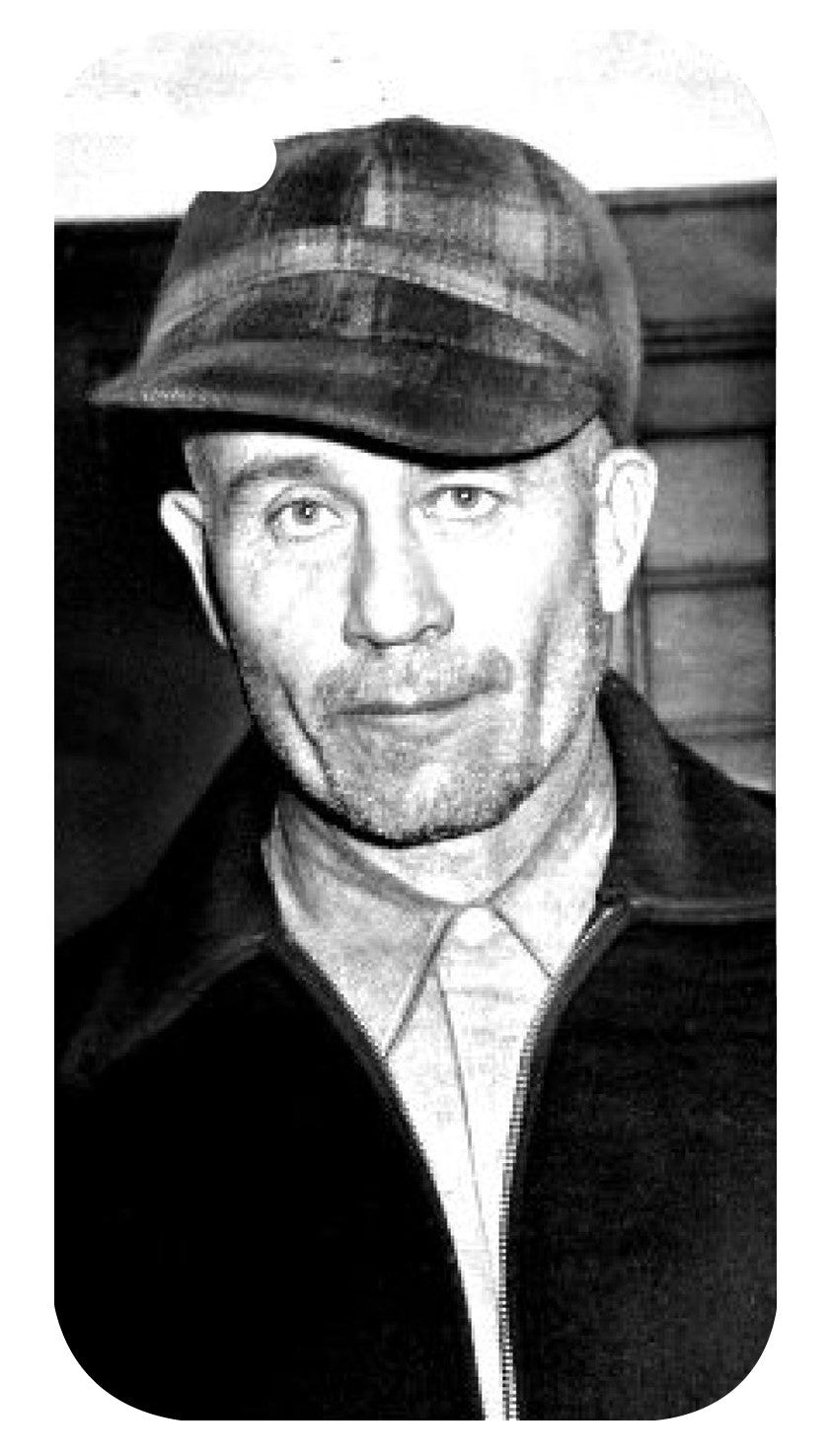 Ed Gein iPhone 4/4S Case