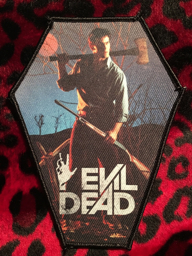 Evil Dead Coffin Patch