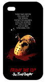 Friday the 13th The Final Chapter iPhone 4/4S Case