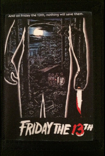 Friday the 13th Canvas Wallet