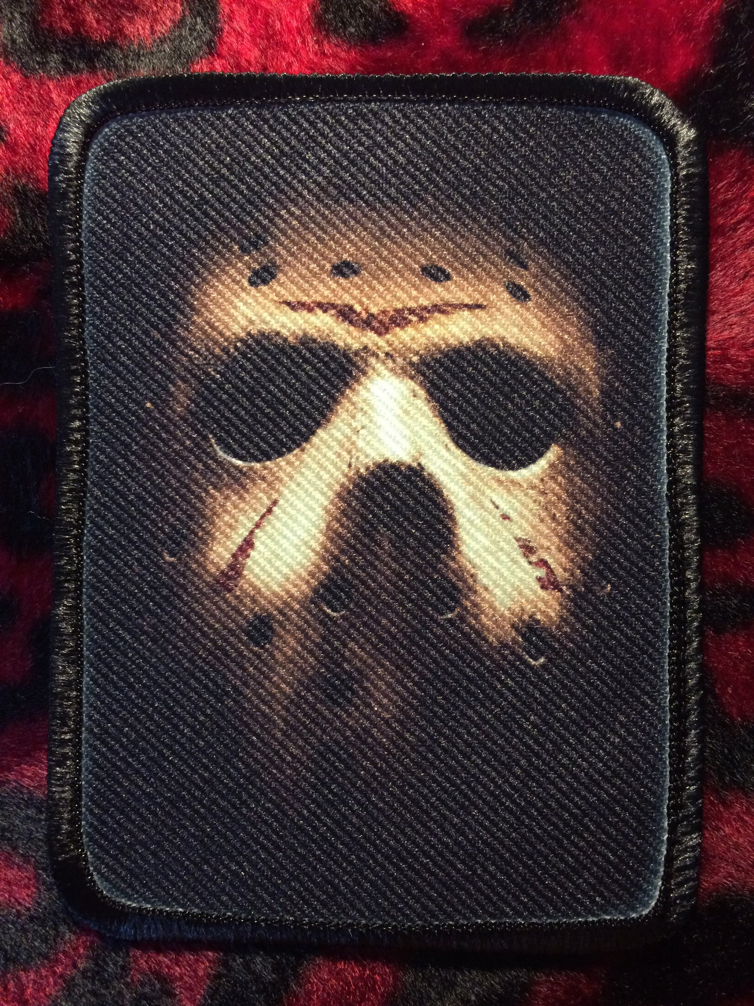 Friday the 13th Jason Mask Style A Patch