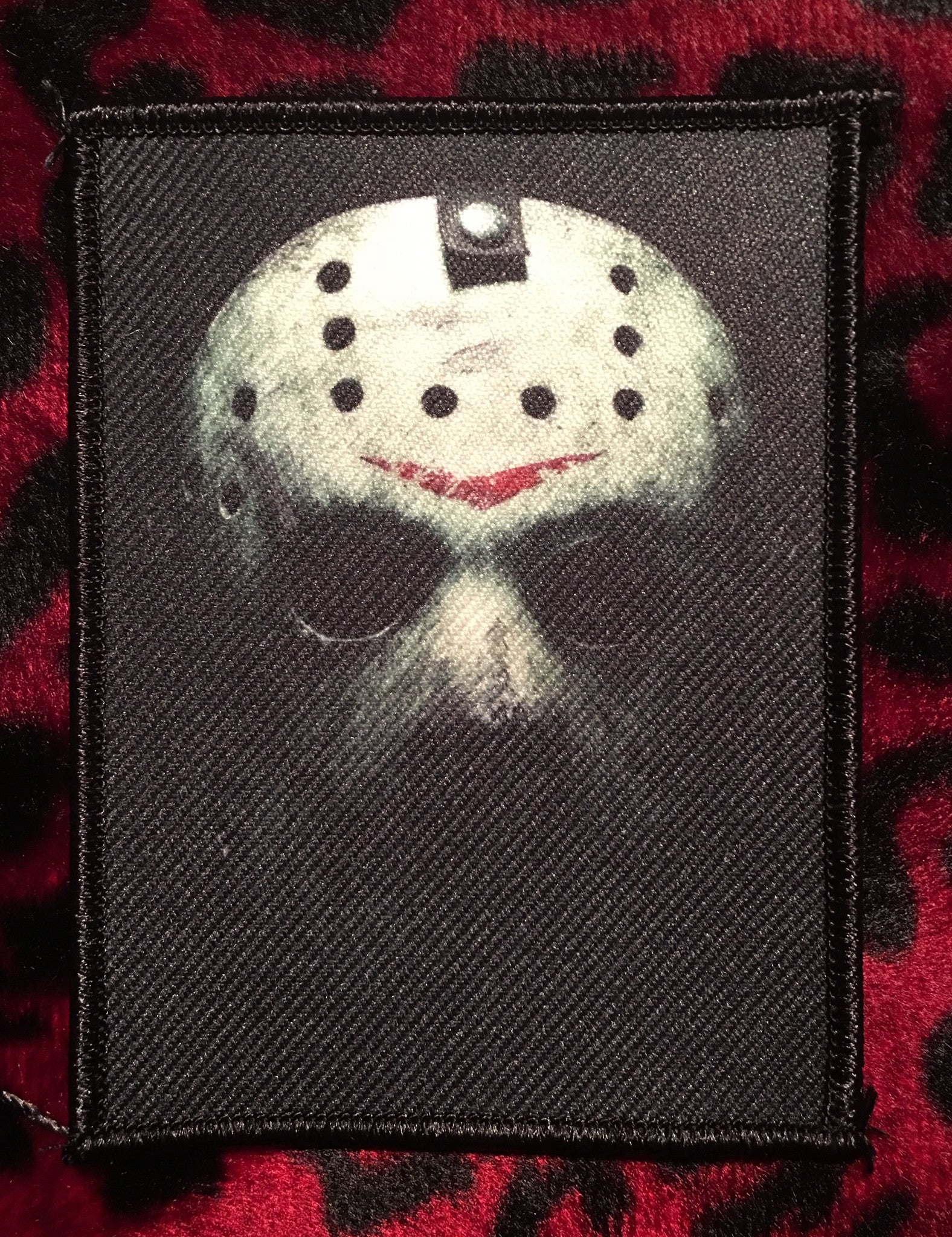Friday the 13th Jason Mask Style B Patch