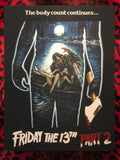 Friday the 13th Part 2 Back Patch