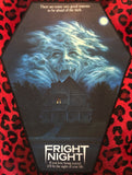 Fright Night Coffin Shaped Back Patch