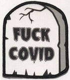 Fuck COVID Small Gravestone Patch