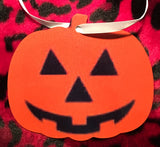 Halloween 3 Pumpkin Christmas Ornament