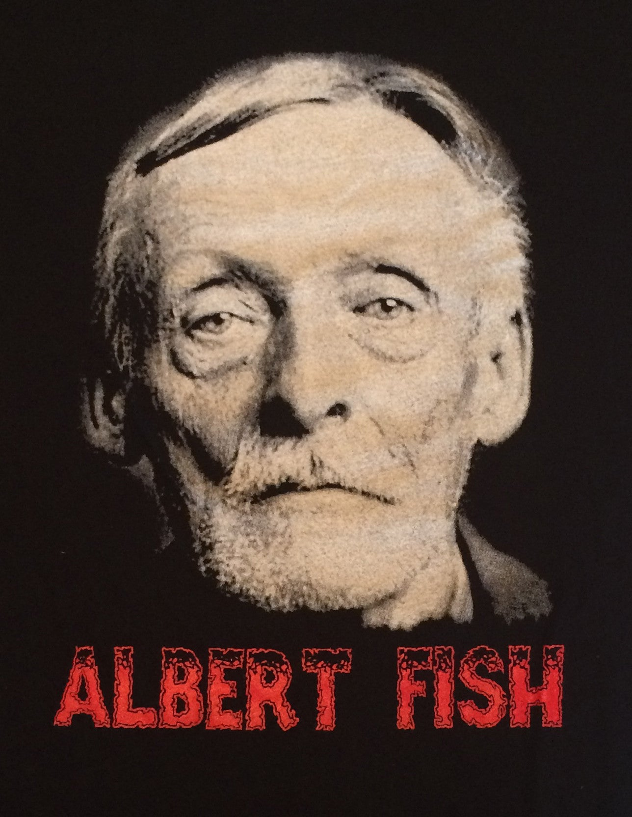 Albert Fish Serial Killer Double Sided Shirt Scream For
