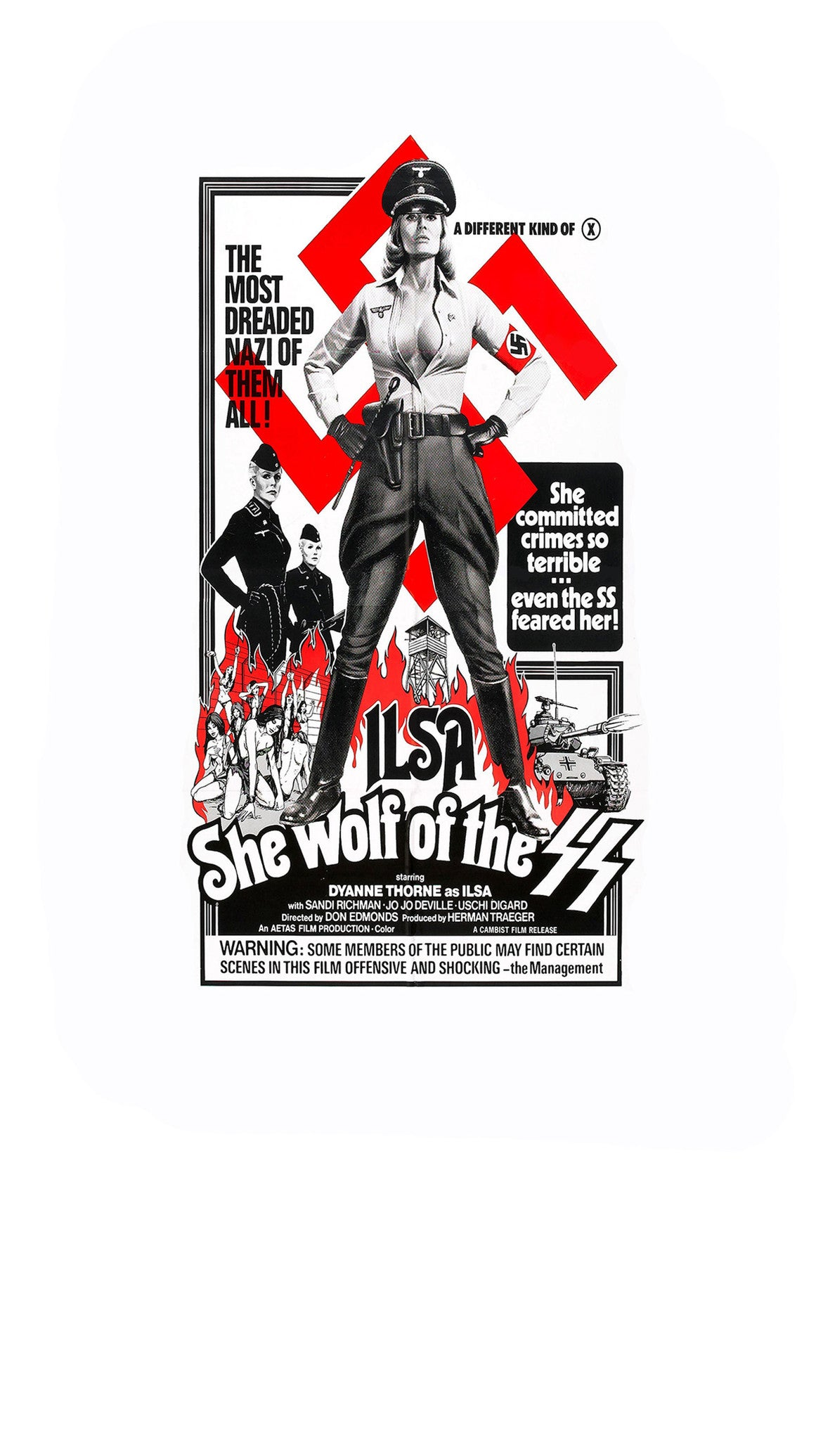 Ilsa She Wolf of the SS iPhone 6+/6S+ Case