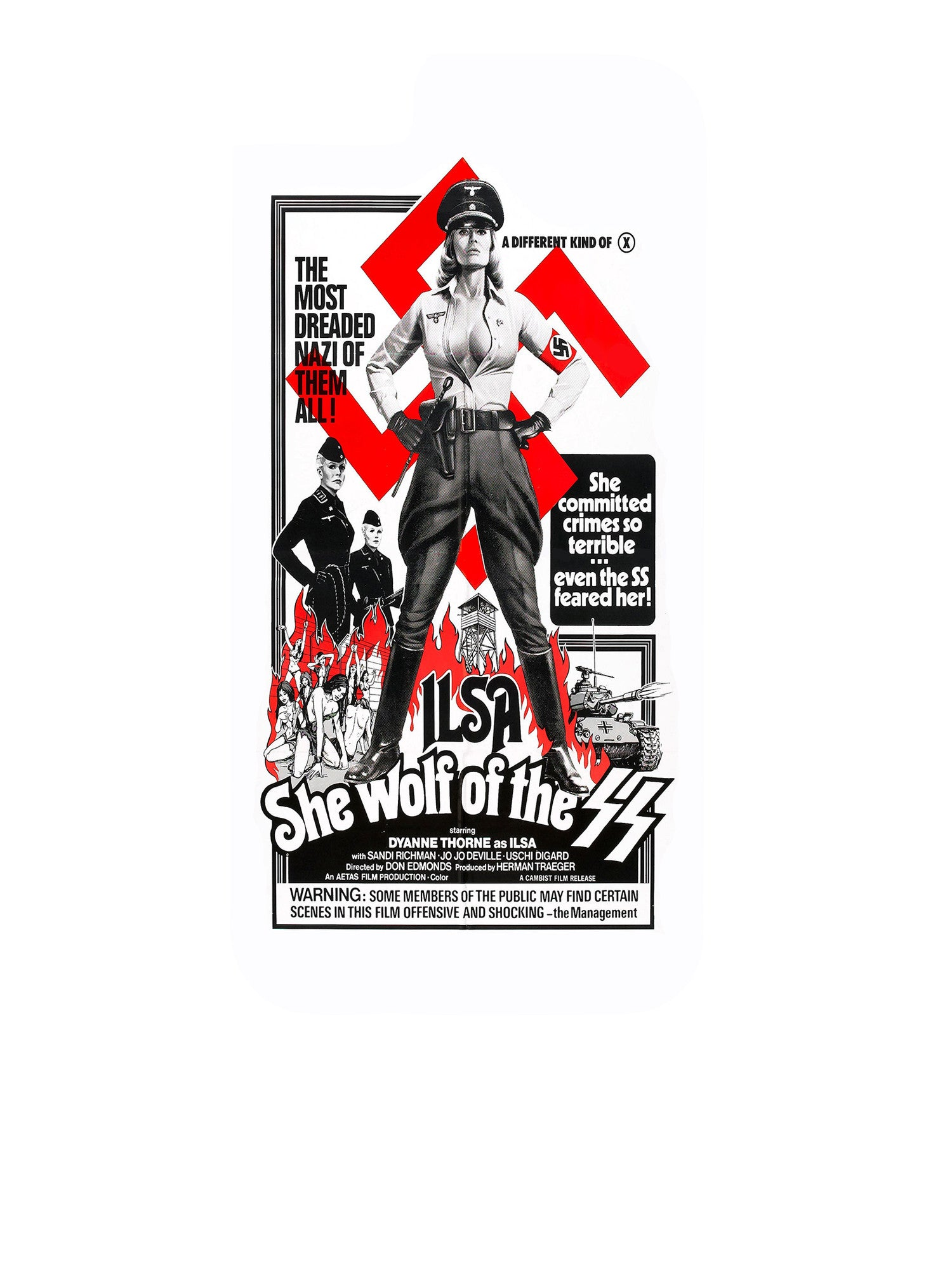 Ilsa She Wolf of the SS iPhone 5C Case