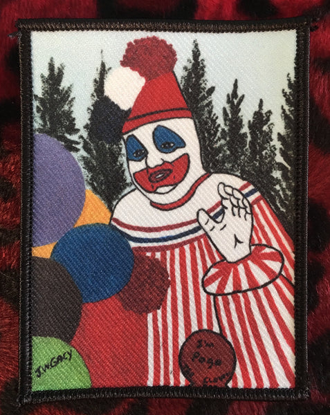 John Wayne Gacy Pogo The Clown Painting Patch Scream For