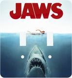 Jaws Double Light Switch Cover