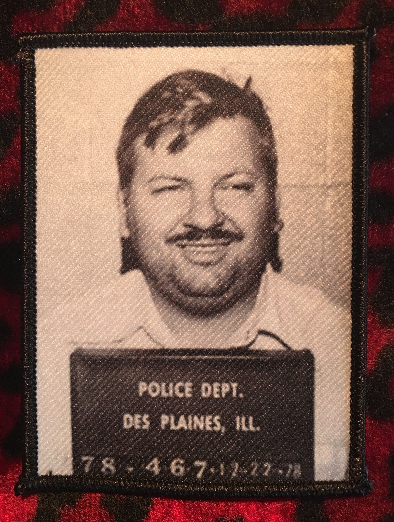 John Wayne Gacy Prison Photo Patch