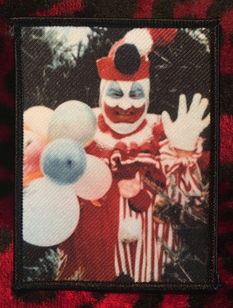 John Wayne Gacy Pogo The Clown Patch Scream For Me Inc