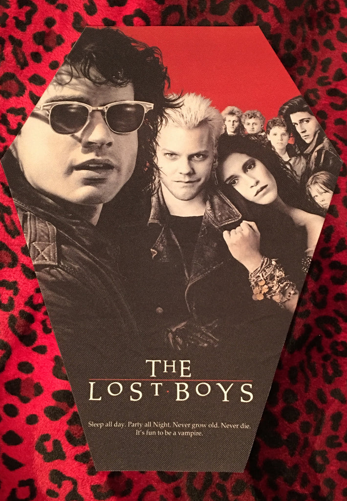 The Lost Boys Coffin Shaped Back Patch