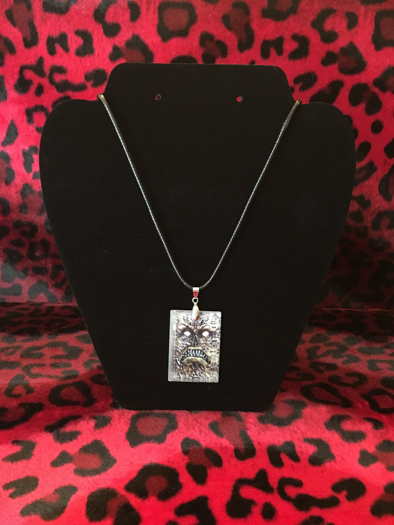 Necronomicon Book of the Dead Crystal Necklace
