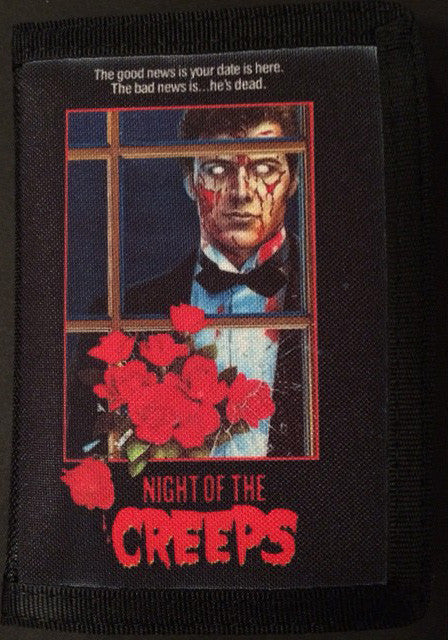 Night of the Creeps Canvas Wallet