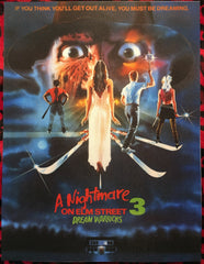 A Nightmare on Elm Street 3 Back Patch