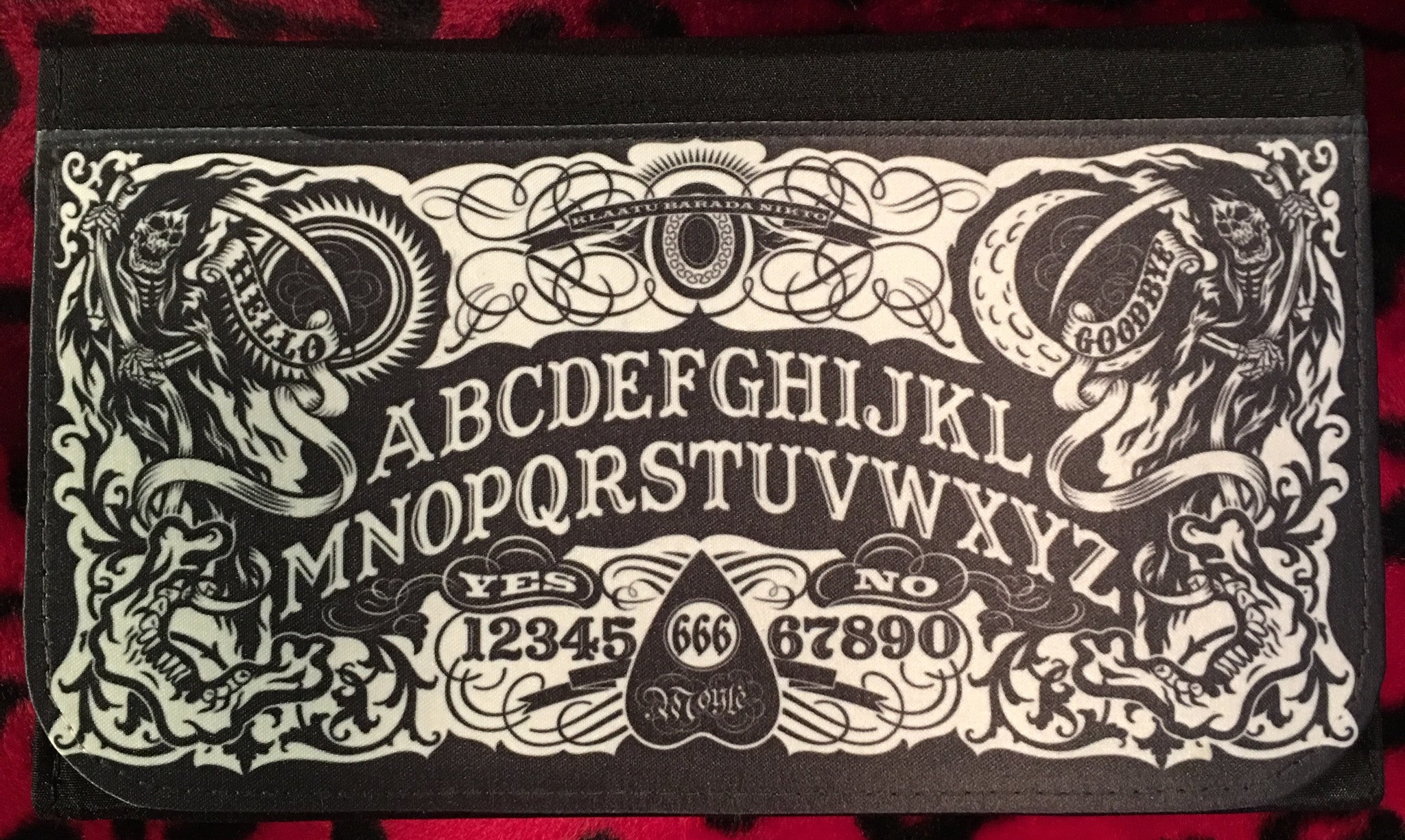 Ouija Board Wallet Scream For Me Inc