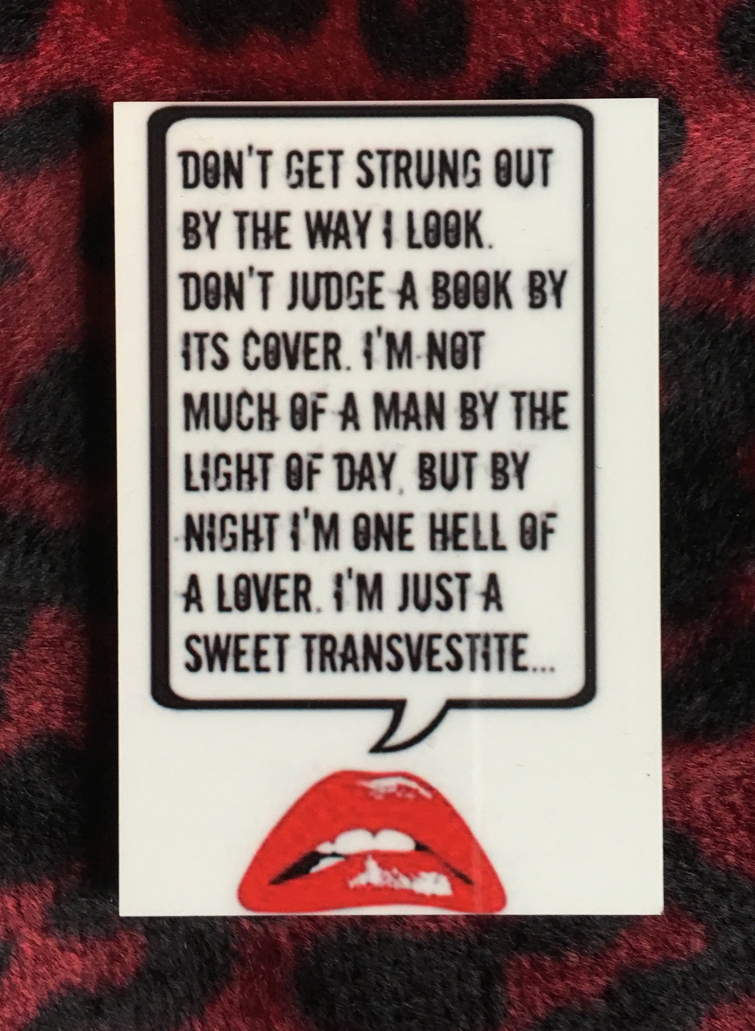 Rocky Horror Picture Show Magnet