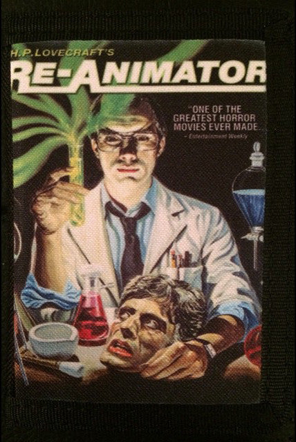 Re-Animator Canvas Wallet