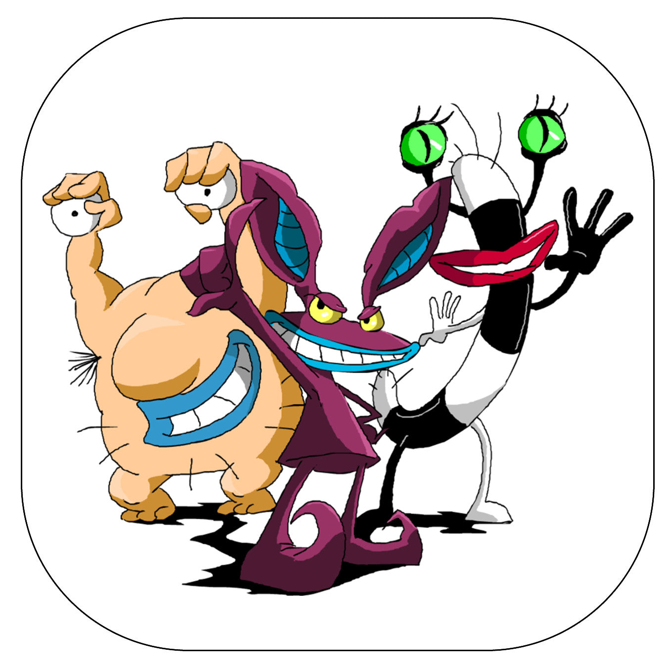 Aaahh Real Monsters Coasters Scream For Me Inc