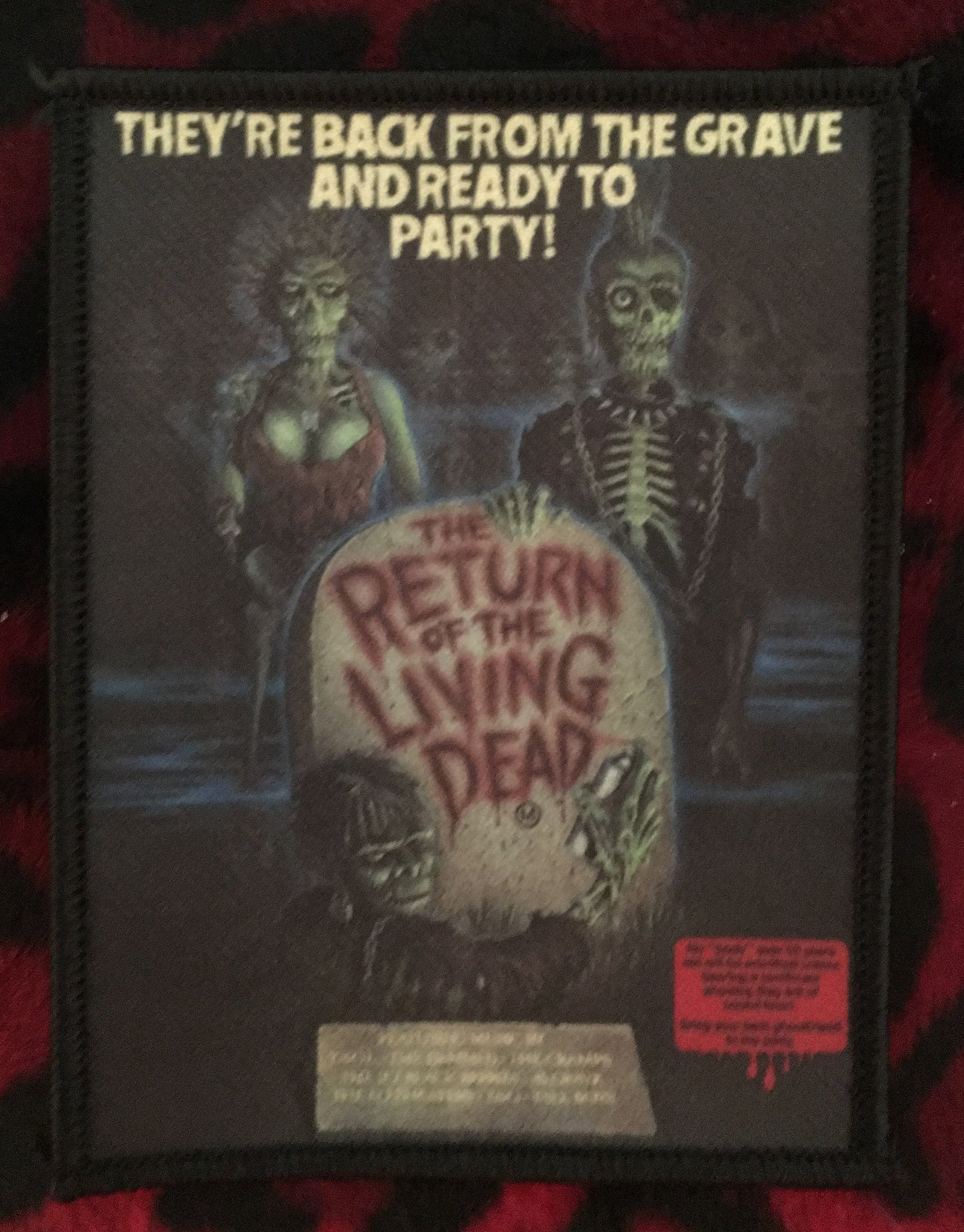 Return of the Living Dead Style A Patch