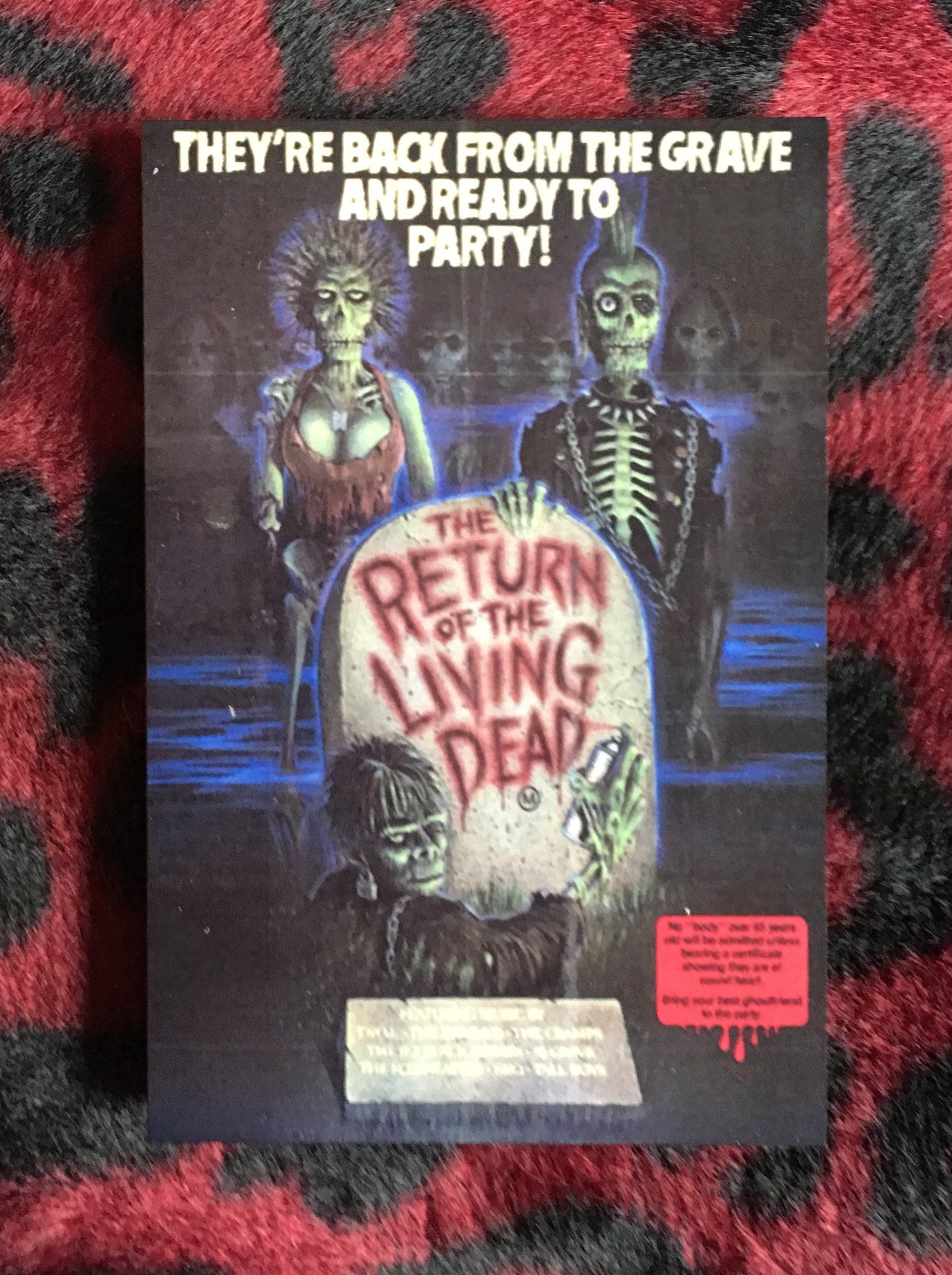 Return of the Living Dead Magnet