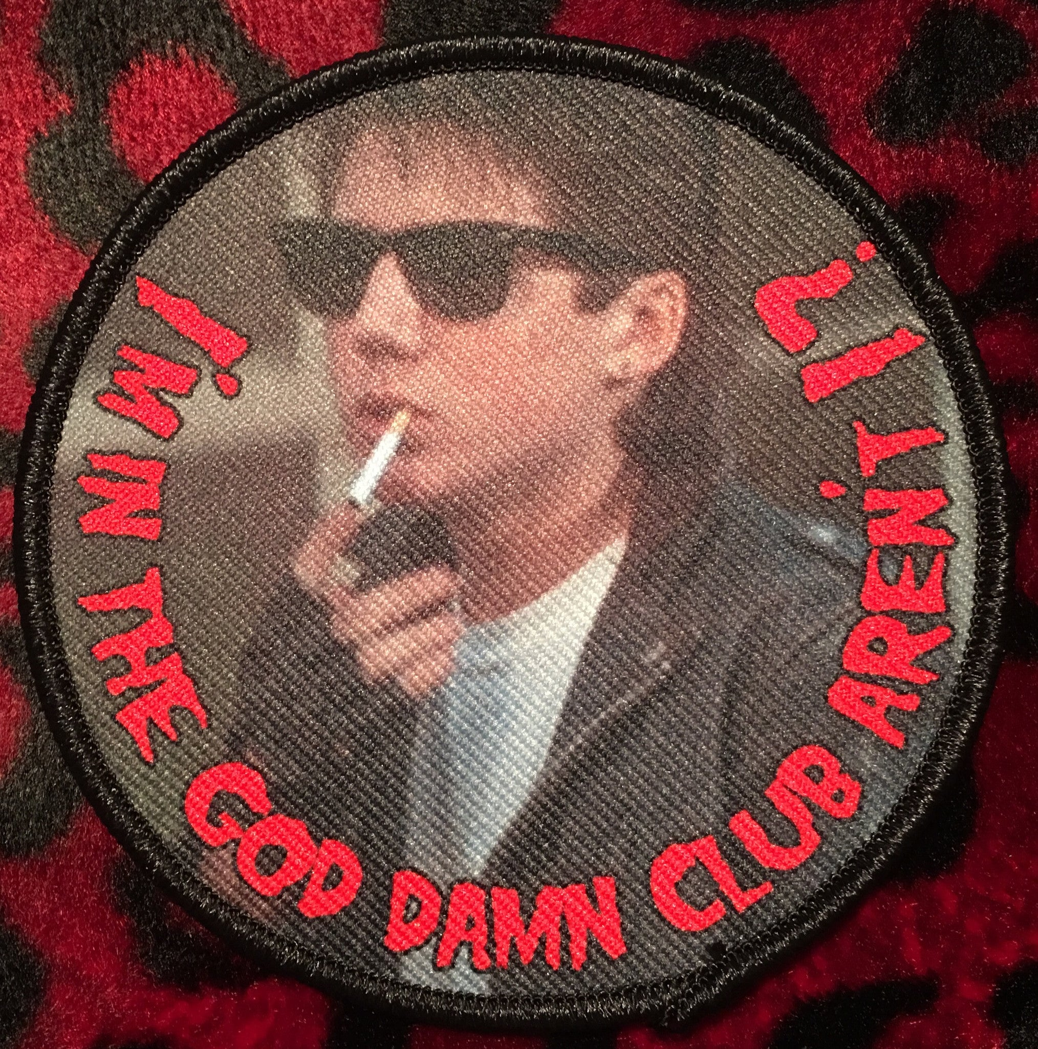 Monster Squad Rudy Patch