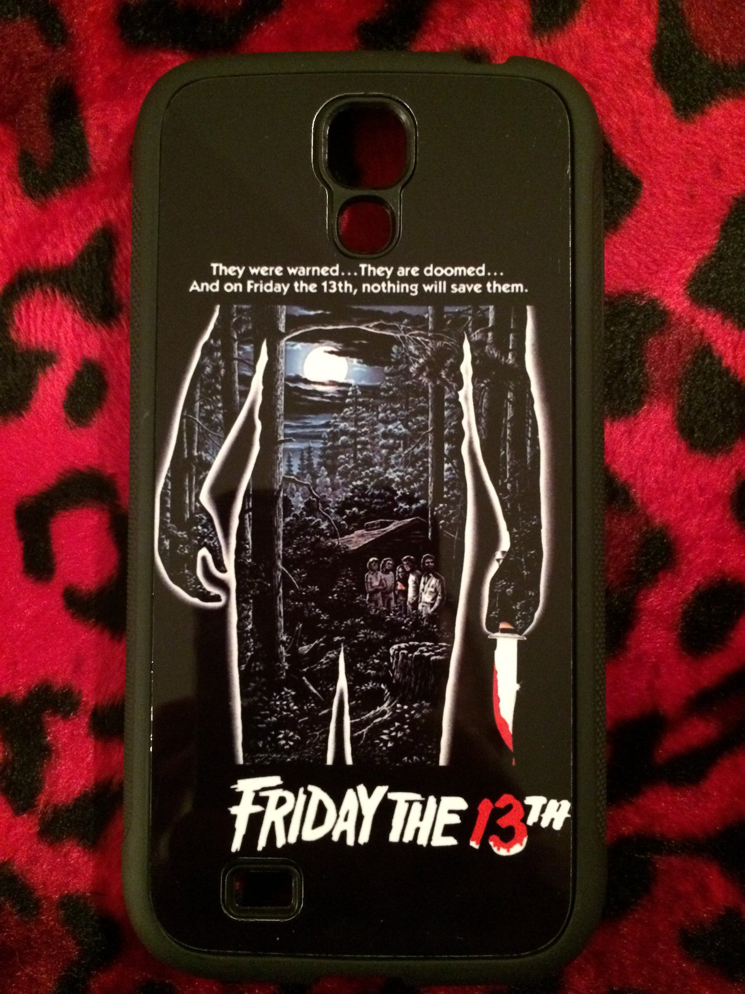 Friday the 13th S4 Phone Case
