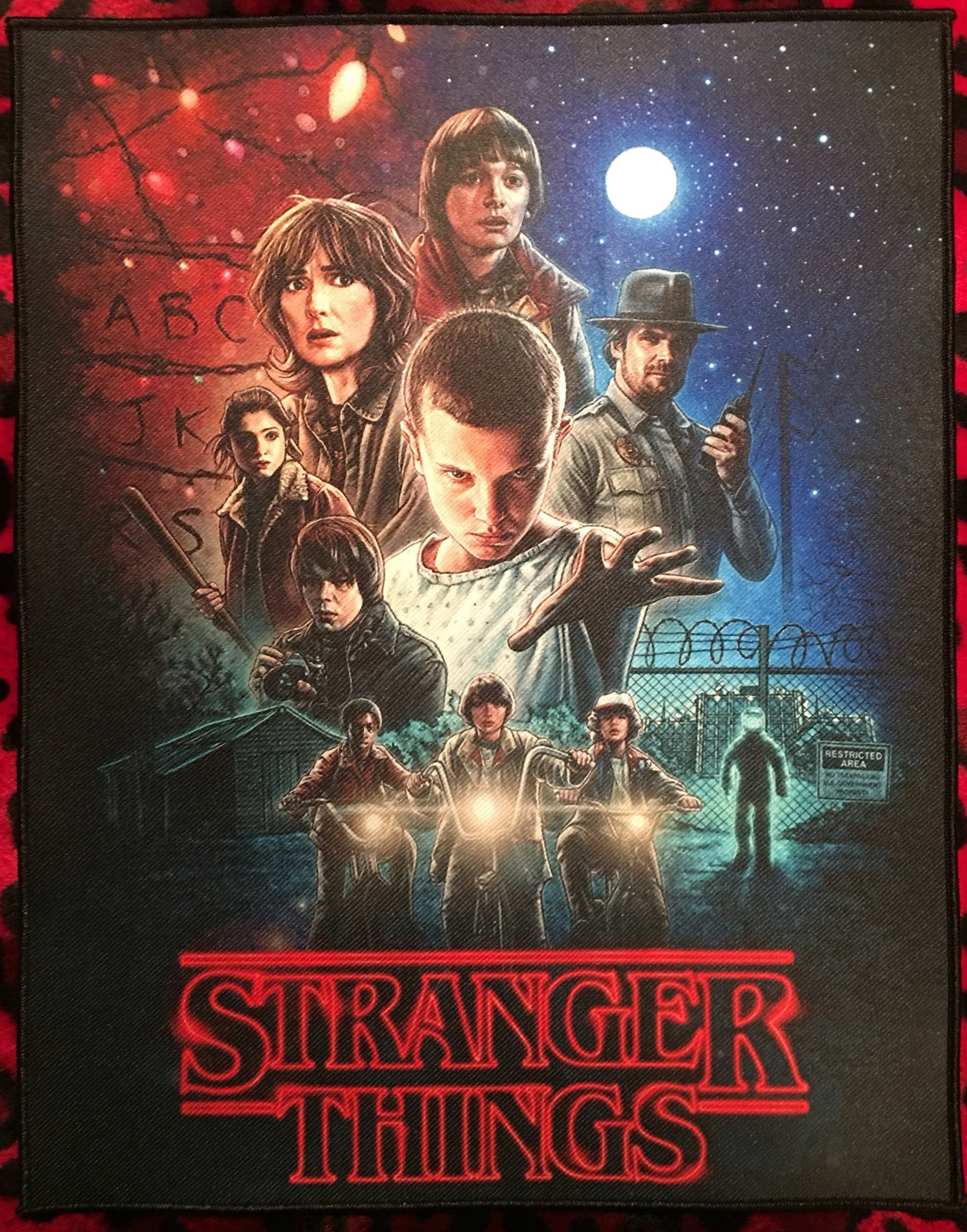 Stranger Things Back Patch
