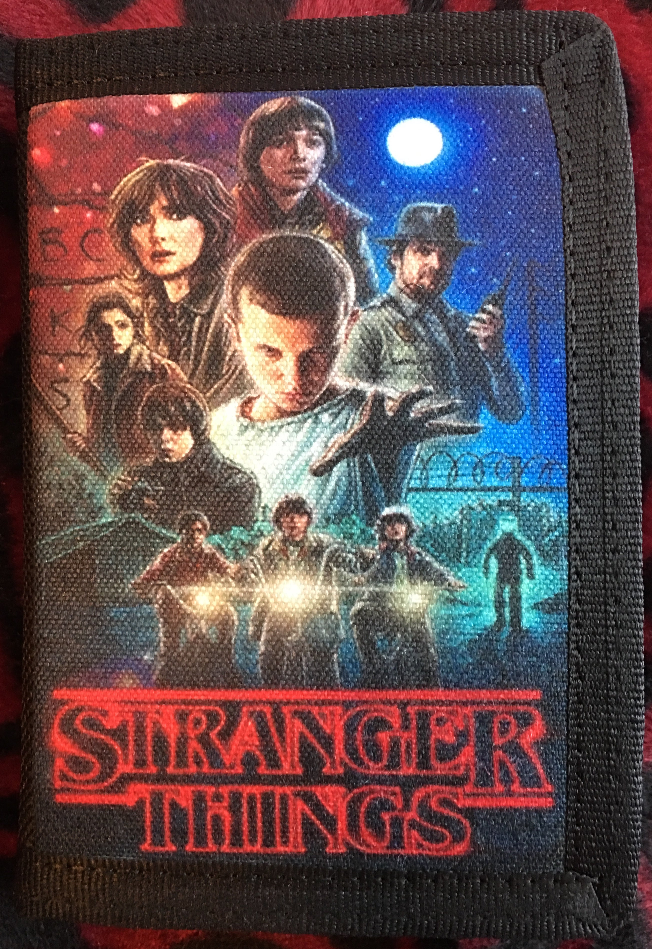 Stranger Things Canvas Wallet