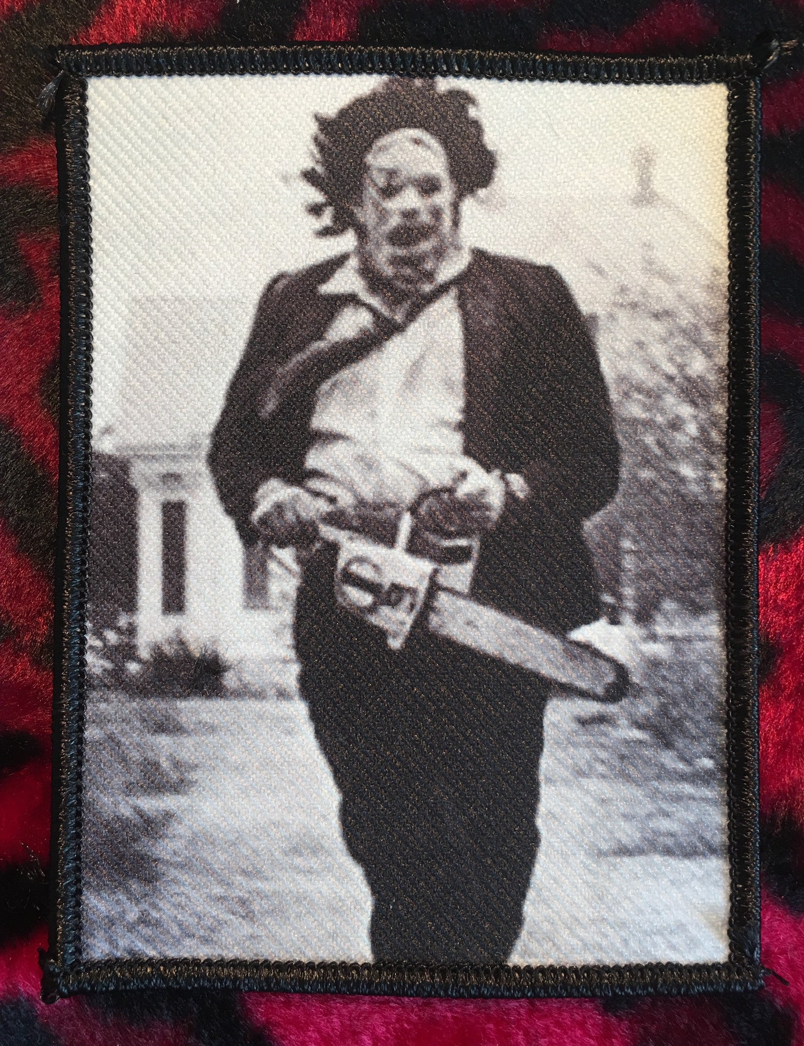 Texas Chainsaw Massacre Leatherface Patch Scream For Me Inc