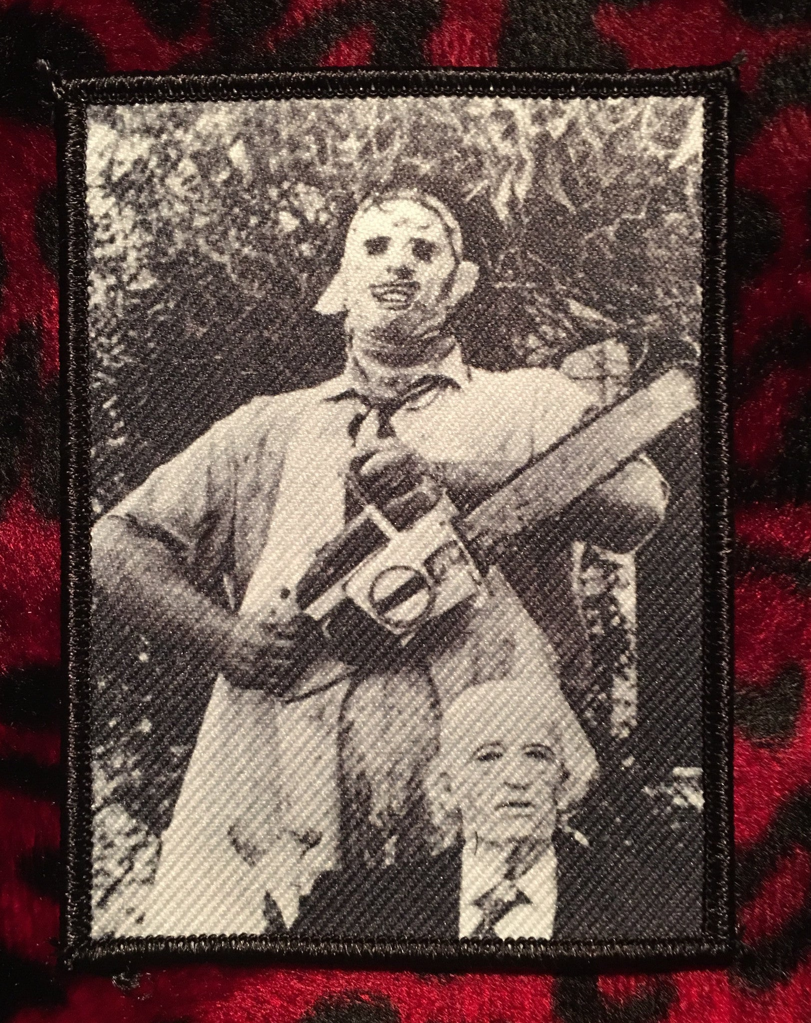 Texas Chainsaw Massacre Leatherface and Grandpa Patch