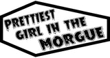 Prettiest Girl In The Morgue Coffin Patch