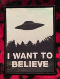 X-Files I Want To Believe Patch