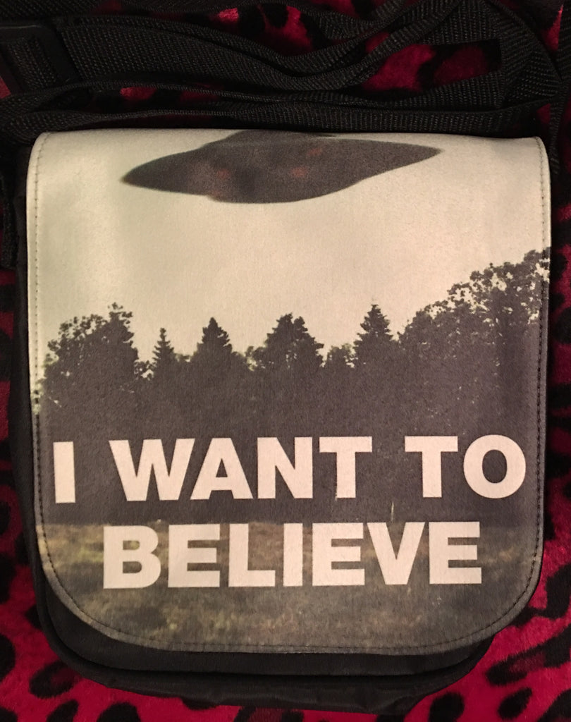 X-Files I Want To Believe Small Bag