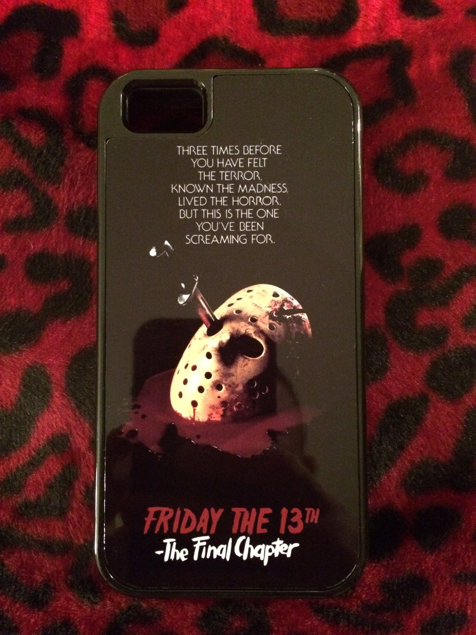 Friday the 13th The Final Chapter iPhone 5/5S Case