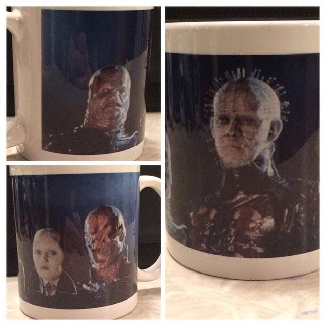 Hellraiser Cenobite Ceramic Coffee Mug