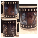 Halloween Film Strip Ceramic Coffee Mug