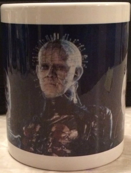 Hellraiser Cenobite Ceramic Coffee Mug Scream For Me Inc