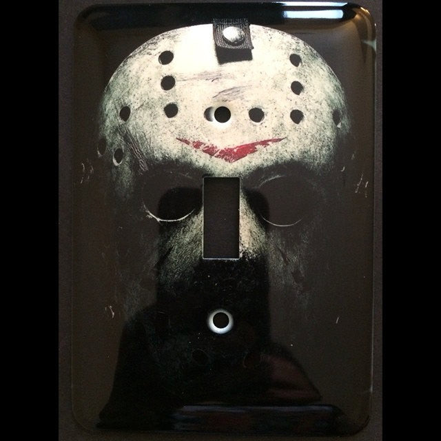 Friday The 13th Jason Vorhess Light Switch Cover