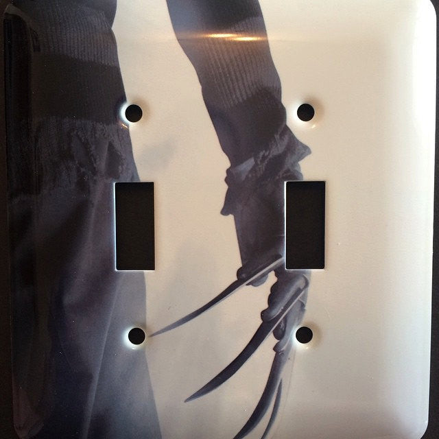 Nightmare on Elm Street Double Light Switch Cover