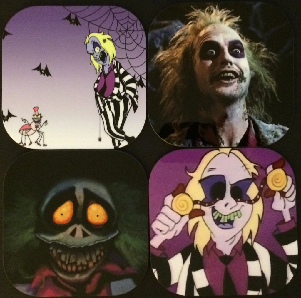 Beetlejuice Coasters (Set of 4)