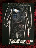 Friday the 13th Back Patch