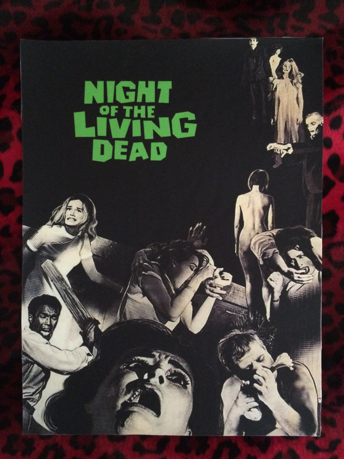 Night of the Living Dead Back Patch