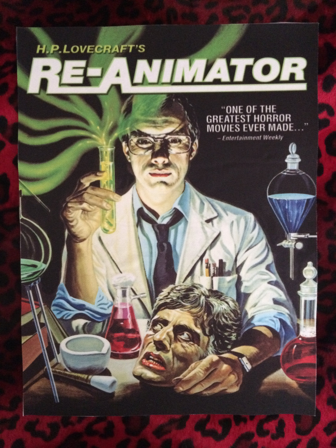 Re-Animator Back Patch